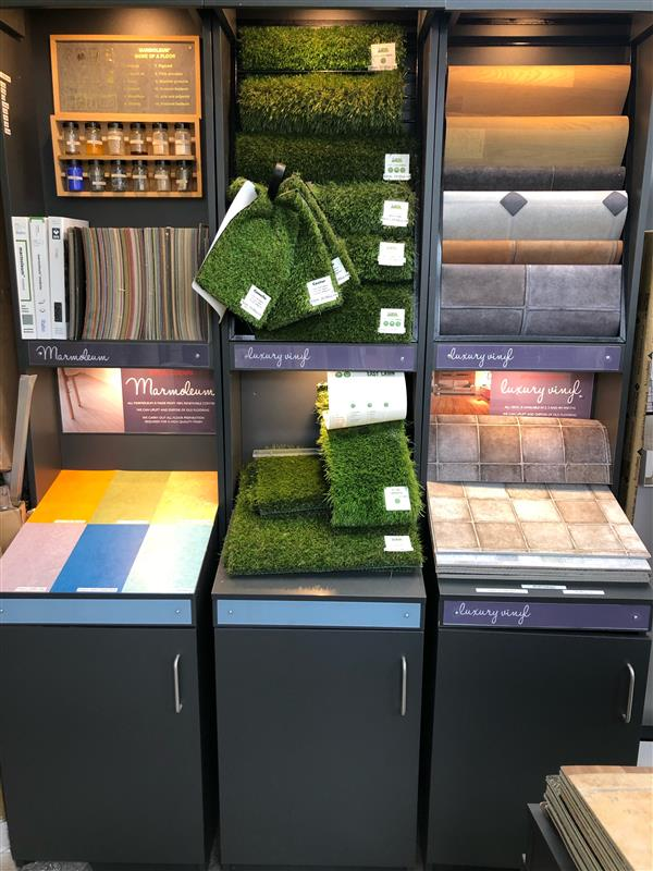 artificial grass selection